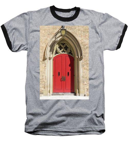 The Red Church Door. Baseball T-Shirt