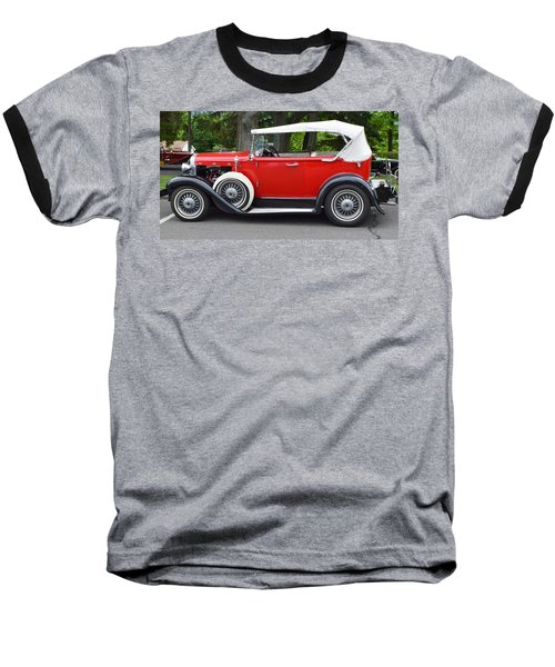 The Red Convertible Baseball T-Shirt