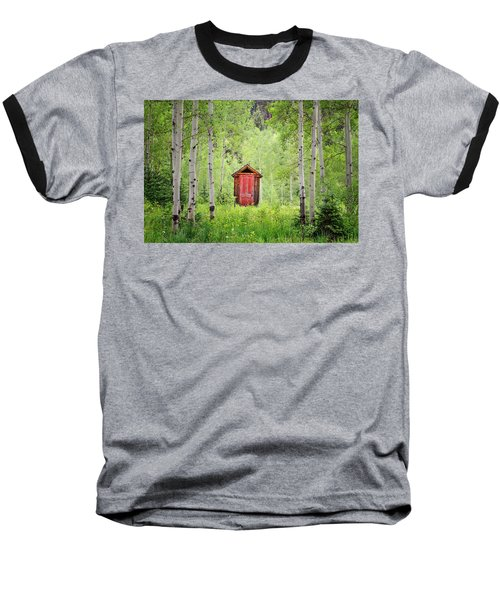 The Red Door  Baseball T-Shirt