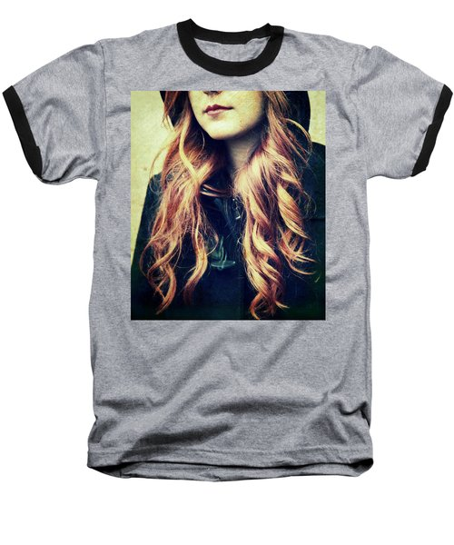 The Red-haired Girl Baseball T-Shirt