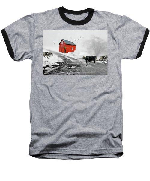 The Red Red Barn Baseball T-Shirt
