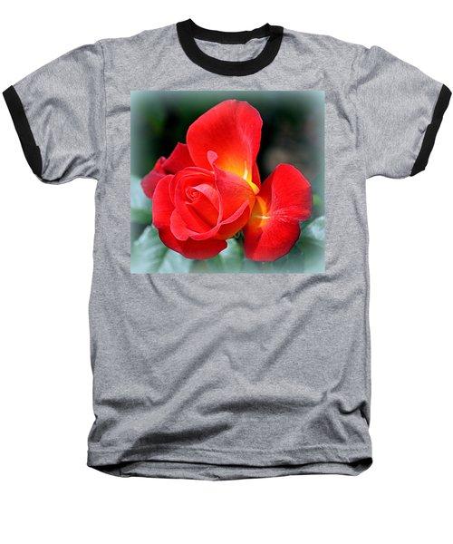 The Red Rose Baseball T-Shirt