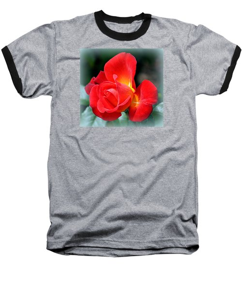 The Red Rose Baseball T-Shirt