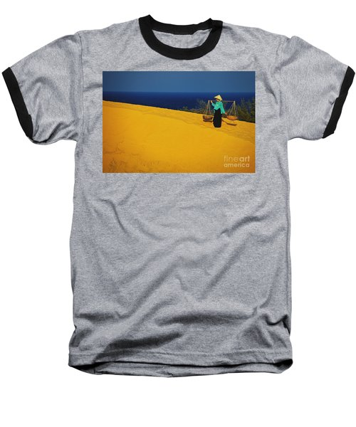The Red San Dunes Of Mui Ne Vietnam Baseball T-Shirt