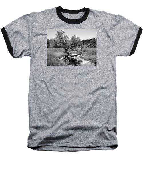 Eye Of The Stream Baseball T-Shirt