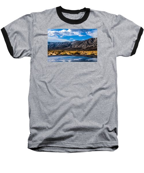The Reflection On The Roof Baseball T-Shirt