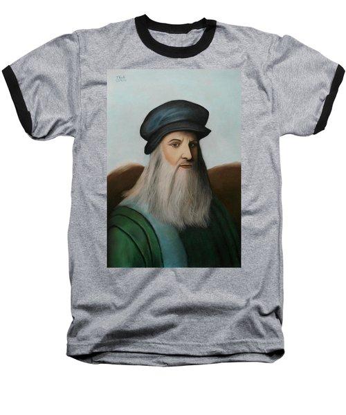 The Master Of Renaissance - Leonardo Da Vinci  Baseball T-Shirt