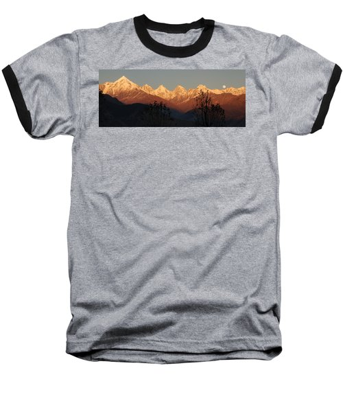 The Rendezvous. A Panorama. Baseball T-Shirt