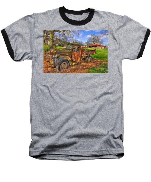 The Resting Place Boswell Farm 1947 Dodge Dump Truck Baseball T-Shirt