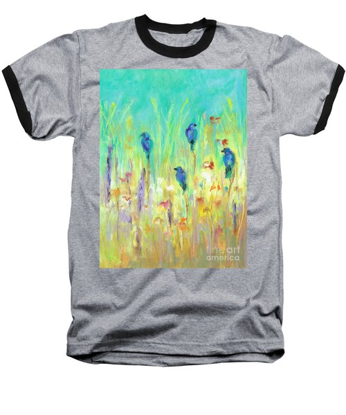 The Resting Place Baseball T-Shirt by Frances Marino