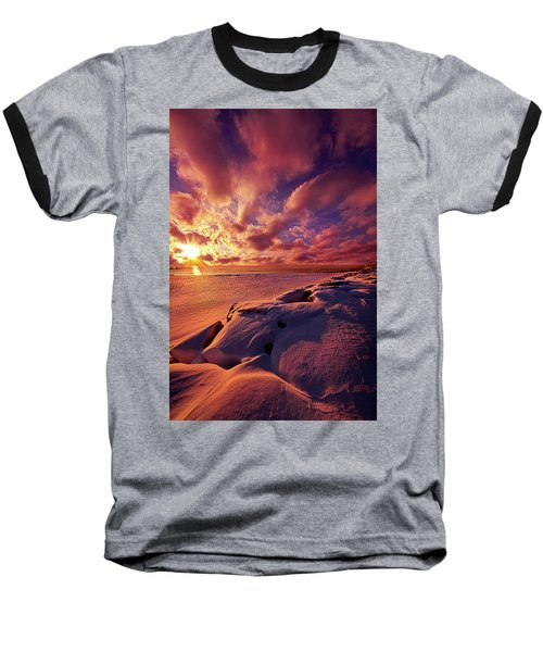 Baseball T-Shirt featuring the photograph The Return by Phil Koch