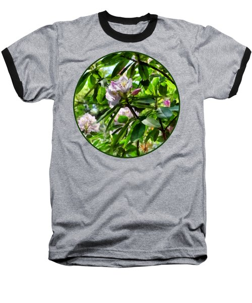 The Rhododendrons Are In Bloom Baseball T-Shirt