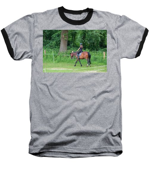 The Riding School In Suburb Baseball T-Shirt