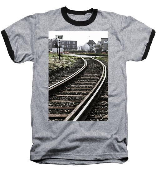 The Right Track? Baseball T-Shirt