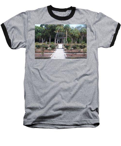 The Ringling Rose Garden Baseball T-Shirt
