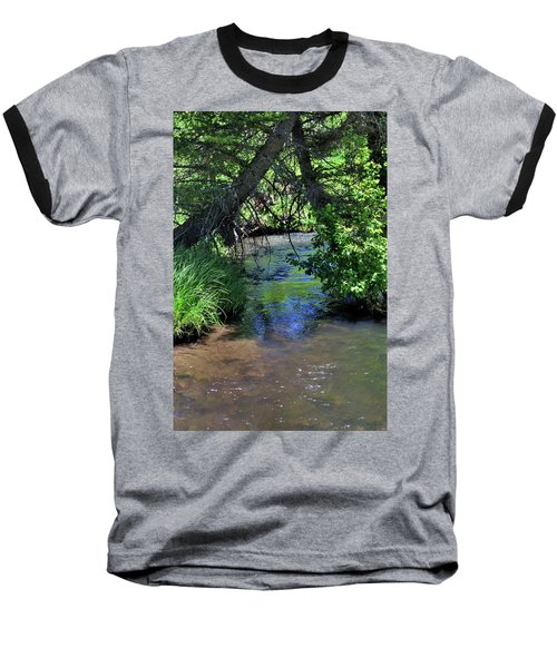 Baseball T-Shirt featuring the photograph The Rio Chiquito by Ron Cline