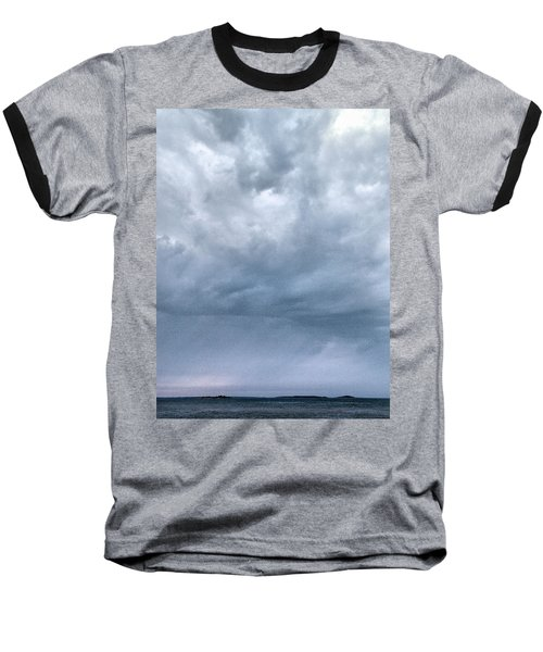 Baseball T-Shirt featuring the photograph The Rising Storm by Jouko Lehto