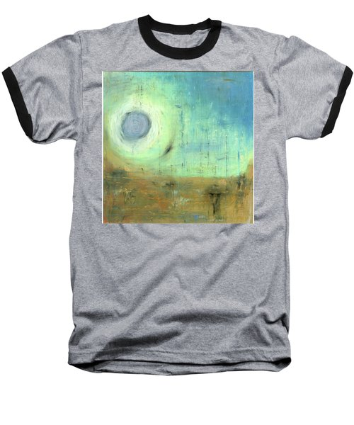 Baseball T-Shirt featuring the painting The Rising Sun by Michal Mitak Mahgerefteh