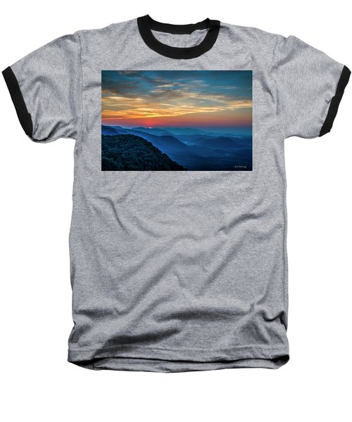 The Rising Sun Pretty Place Chapel Greenville S C Great Smoky Mountain Art Baseball T-Shirt