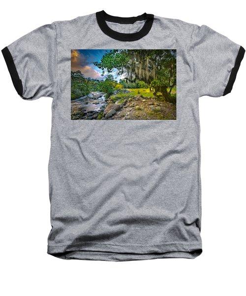 The River At Cocora Baseball T-Shirt