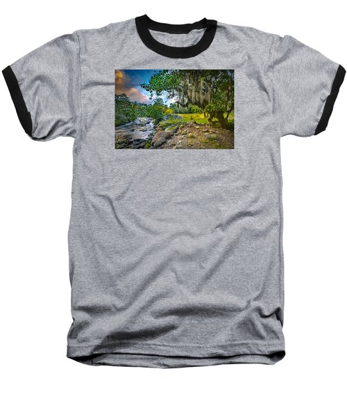 The River At Cocora Baseball T-Shirt
