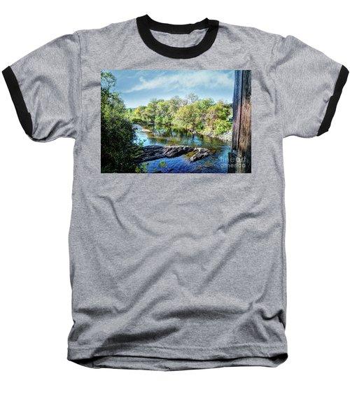 The River Below  Baseball T-Shirt