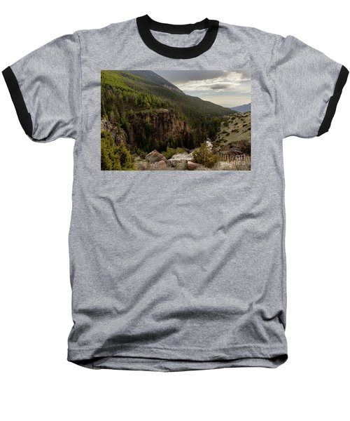 The River Below Baseball T-Shirt