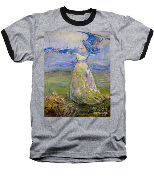 The River Is Here Baseball T-Shirt