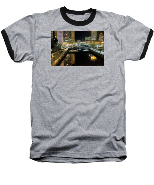 The River Walk Baseball T-Shirt