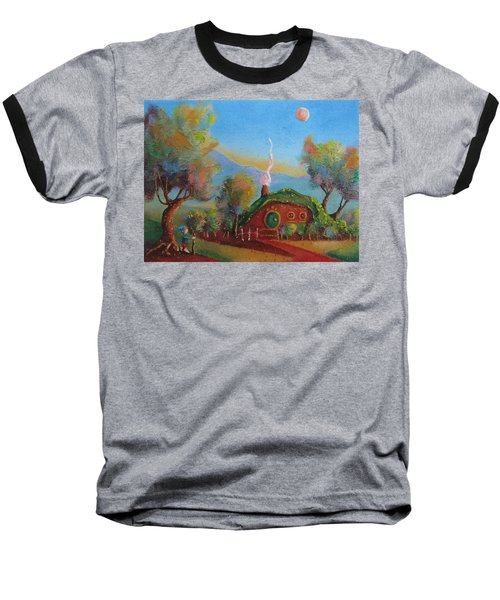 The Road Goes Ever On. Baseball T-Shirt by Joe  Gilronan