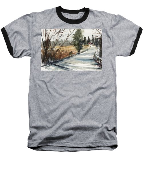 The Road Home Baseball T-Shirt by Judith Levins
