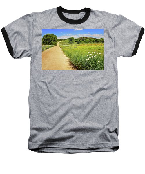 The Road Home Baseball T-Shirt by Lynn Bauer