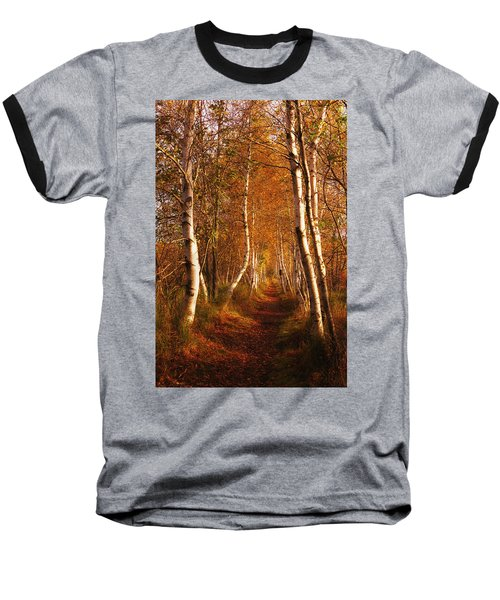 The Road Not Taken Baseball T-Shirt