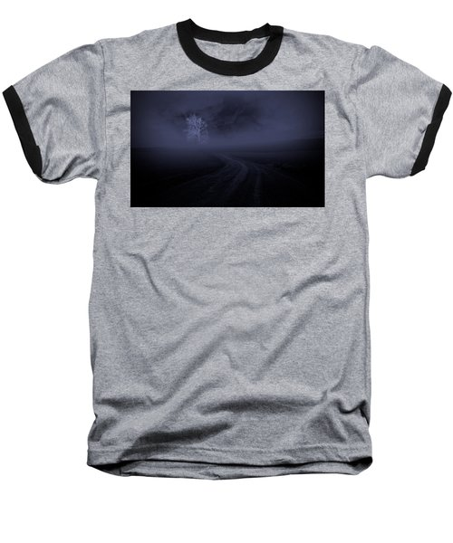 Baseball T-Shirt featuring the photograph The Road by Robert Geary