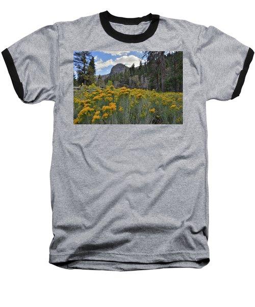 The Road To Mt. Charleston Natural Area Baseball T-Shirt