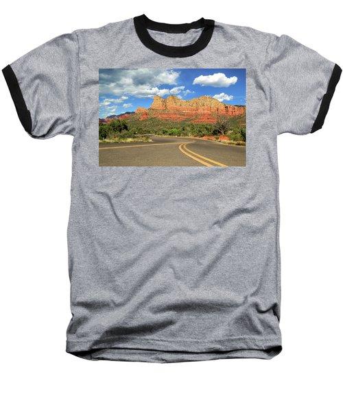 The Road To Sedona Baseball T-Shirt