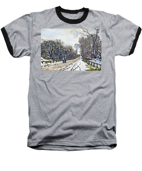 The Road To The Farm Of St. Simeon Baseball T-Shirt by Monet