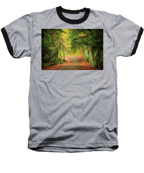 The Road To The Mill  Baseball T-Shirt