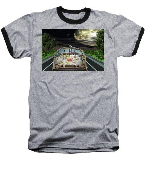 The Road Trip Baseball T-Shirt by Angela Hobbs