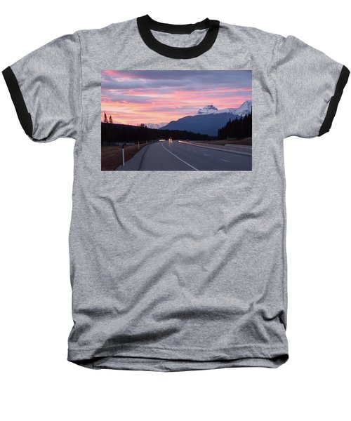 The Road Trip Baseball T-Shirt by Keith Boone