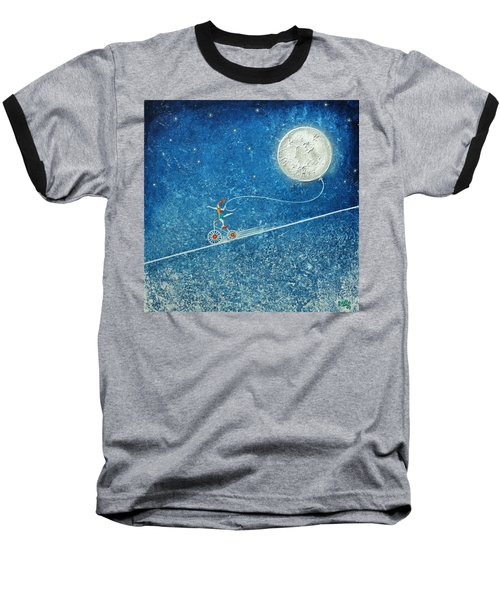The Robbery Of The Moon Baseball T-Shirt