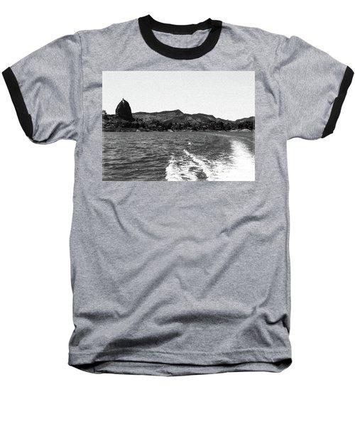 The Rock Of Guatape Baseball T-Shirt