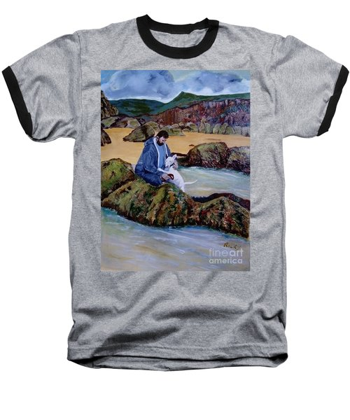The Rock Pool - Painting Baseball T-Shirt