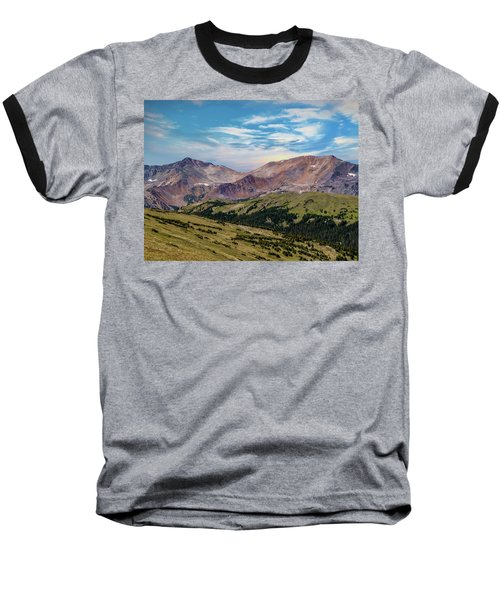 Baseball T-Shirt featuring the photograph The Rockies by Bill Gallagher