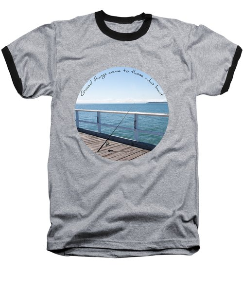 Baseball T-Shirt featuring the photograph The Rod by Linda Lees