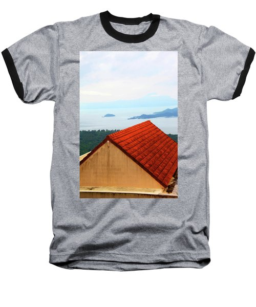 The Roof Be Told Baseball T-Shirt