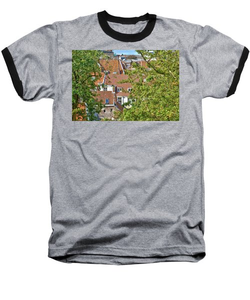 The Rooftops Of Leiden Baseball T-Shirt