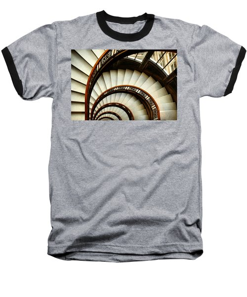 The Rookery Spiral Staircase Baseball T-Shirt