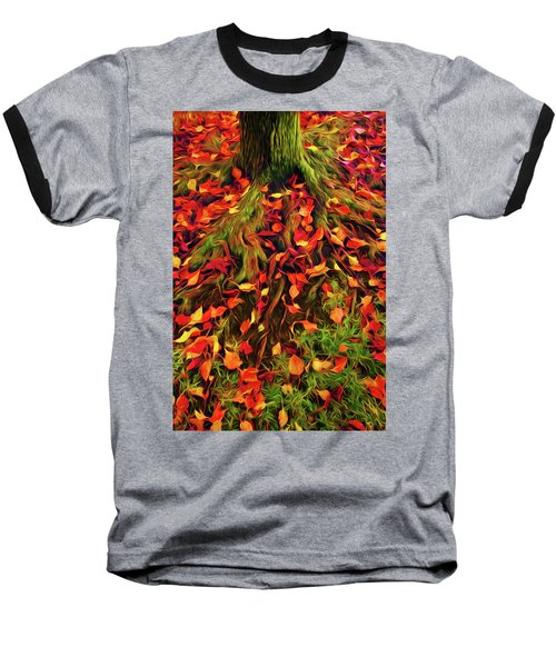 The Root Of Fall Baseball T-Shirt