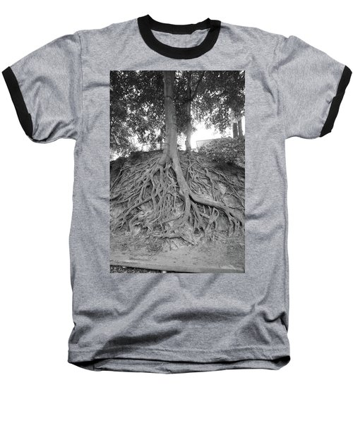 The Root Of It All Baseball T-Shirt